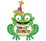 Happy Birthday Frog - Jumbo