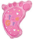 It's A Baby Girl Foot -