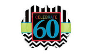 Celebrate 60th Birthday- Jumbo