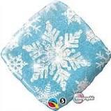 Blue Winter Snowflake