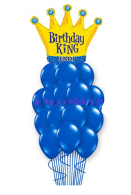Birthday King True Blue Bouquet
