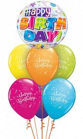 Shining Star Birthday Bubble Bouquet