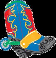 Wild Western Cowboy Boot