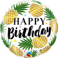 Pineapple Happy Birthday