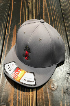 Smoked Out Firefighter Fearless Flexfit