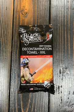 Black Smoke Towel