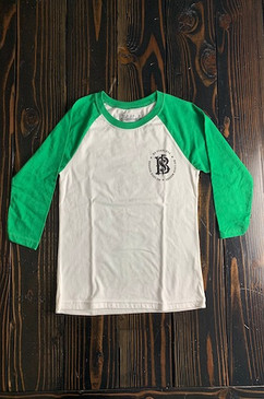 Youth No Luck Needed Baseball Tee