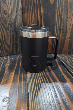 Black Smoke Custom 12 oz Black Coffee