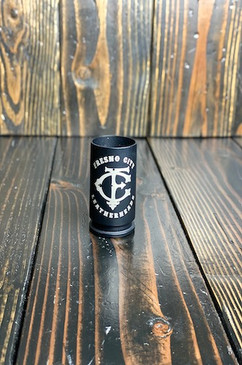 Black Smoke Shot Glass