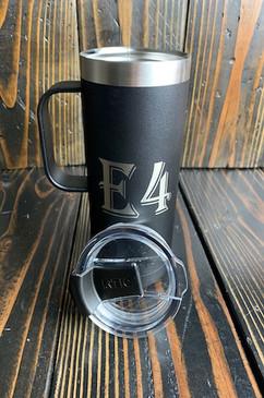 Black Smoke Custom 16 oz Black Coffee