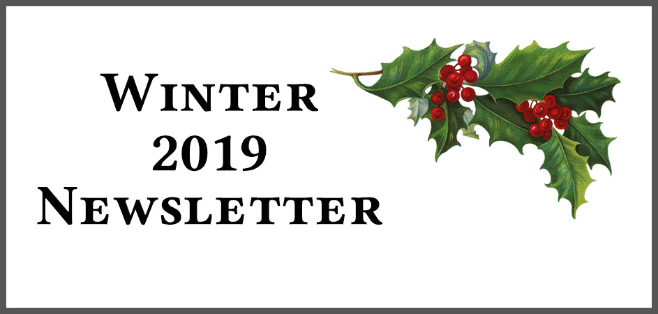 Evolution Winter 2019 Newsletter
