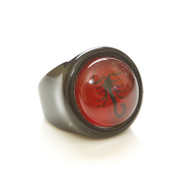 Children's Ring-Black Scorpion