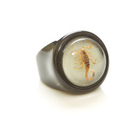 Children's Ring-Blonde Scorpion-glow in the dark