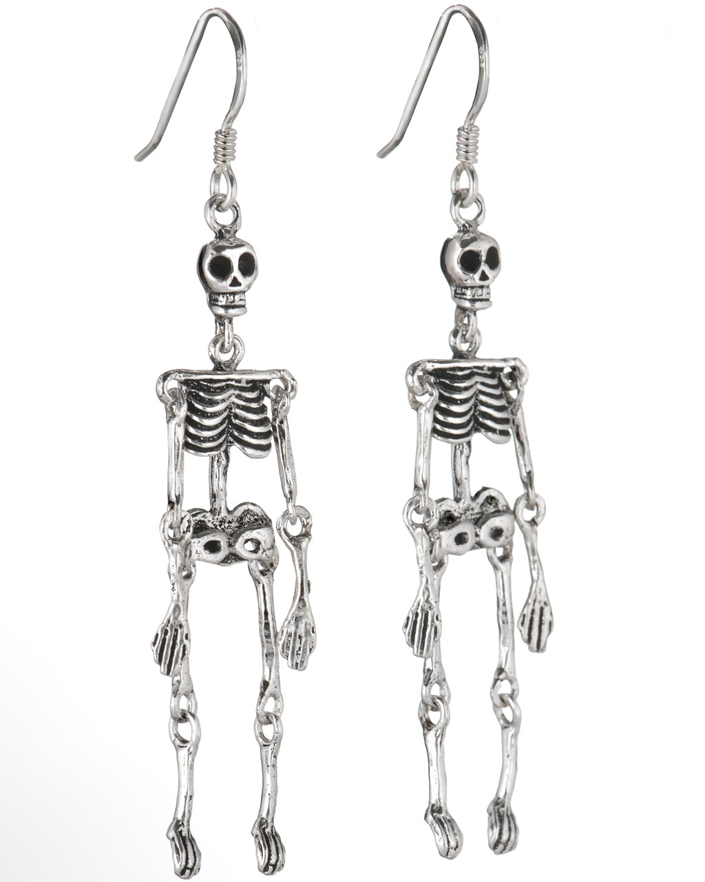 f2dc41aec47cce Skeleton Hanging Earrings - The Evolution Store