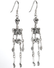 Skeleton Hanging Earrings