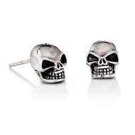 Large Skull Stud Earrings