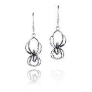 Spider Hanging Earrings