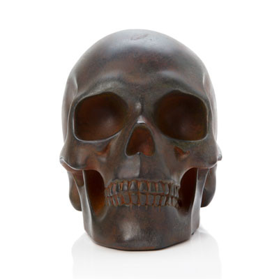 Cast Iron Skull, Frontal