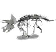 Metal Triceratops Skeleton Kit