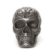 Miniature Tribal Gunmetal Skull Thumbnail