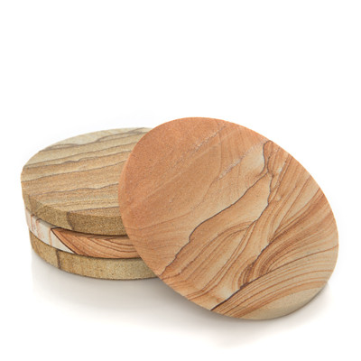 Picture Sandstone Coaster - Set