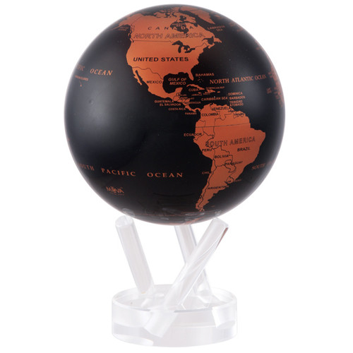 Copper and Black Globe - Thumbnail