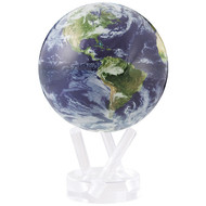 Cloud Cover Earth Globe - Thumbnail