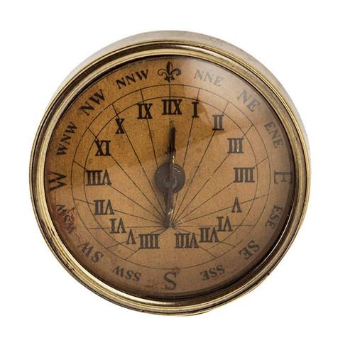18th C. Compass - Sundial, Small