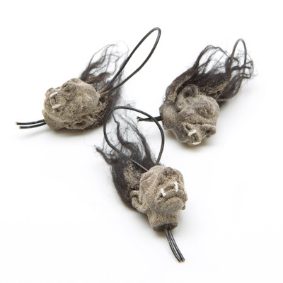 Mini Shrunken Heads - Cluster
