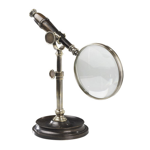 Magnifying Glass, Bronzed - Thumbnail