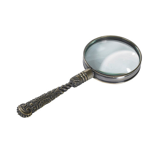 Rococo Magnifier, Bronze - Thumbnail