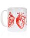 Heart Mug Left Side