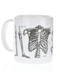 Skeleton Mug Left Side