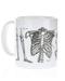 Skeleton Mug Left Side