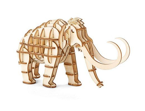 Mammoth 3D Wooden Puzzle Thumbnail