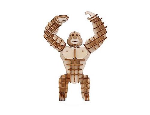 Gorilla 3D Wooden Puzzle - Thumbnail