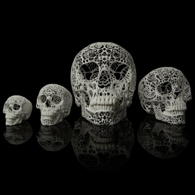 Filigree Skull - All sizes