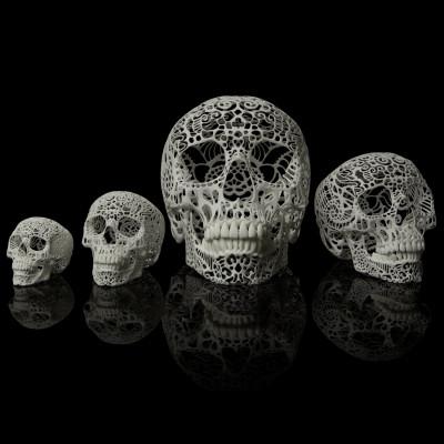 Filigree Skull - All sizes