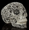 Filigree Skull - Side