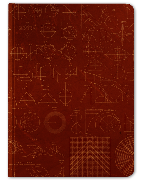 Mathematics Hardcover Journal - Front