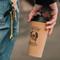 Cork coffee cup - On hand