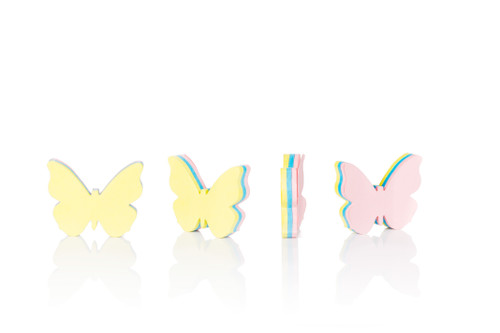 Butterfly Sticky Notes - Thumbnail