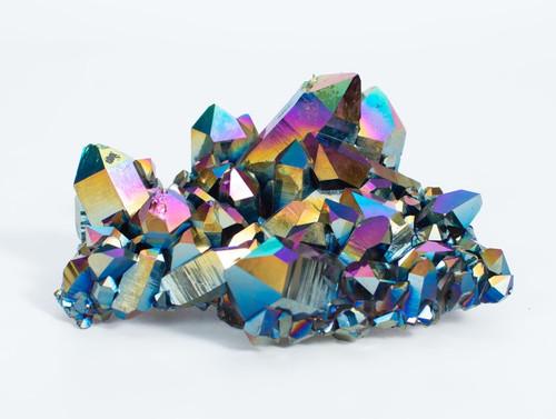 Titanium Coated Quartz Cluster - Thumbnail