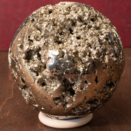 Pyrite Sphere, Unique - Thumbnail