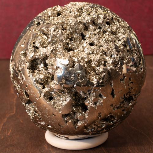 Pyrite Sphere, Unique - Thumbnail