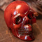 Faux Mexican Amber Skull - Thumbnail