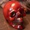 Faux Mexican Amber Skull - Thumbnail
