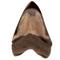 """Polished Megalodon Shark Tooth 5"""" - Back"""