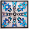 Blue Butterfly Starburst - Thumbnail