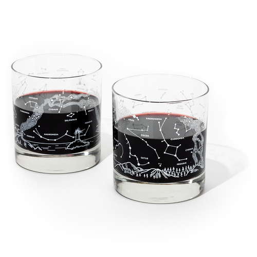Night Sky Rocks Glass Set - Thumbnail